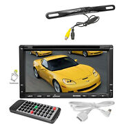Lanzar Bluetooth 7 Dvd Cd Gps Touch Screen Radio And Pyle Black Back Up Camera