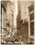 Underhill Irving Photog. Broad St. Curb Brokers Photo. Ny 1916