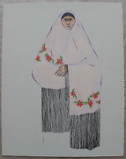 R.c. Gorman Taos Pueblo Woman St.1 On Sale Signed And Numbered