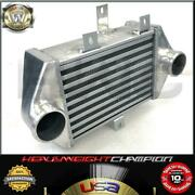 4 Overall Side Mount Intercooler For 91-99 Toyota Mr2 Sw20 3s-gte Celica All-t