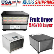 Food Dryer Fruit Dryer Food Dehydrator Household And Commercial 5/6/10 Layer
