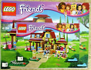 Euc, Lego Friends 41126 Heartlake Riding Club 2 Instruction Booklets, Paper Only
