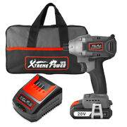 20v Max 1/4 Impact Driver Brushless Cordless Lithium-ion Drill 2.0ah Belt Clip