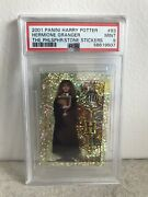 2001 Panini Hermione Granger Harry Potter Holo Psa 9 Pop 4 - Only One Higher