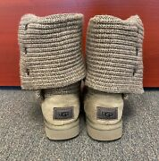 Ugg Women's Classic Cardy Boots - Great Condition Grey Gray - Size 7