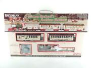 Bachmann Trains Norman Rockwelland039s American Christmas Electric Train Set Preowned