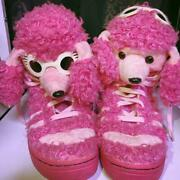 Adidas Jeremy Scott Collaboration Menand039s Sneakers Poodle 27cm Us 8.5 Pink Used