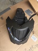 Bmw G 650 Gs Front Fender Shorter Custom Carbon With Mounting Bracket