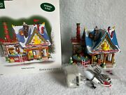 Dept 56 - North Pole - Rubber Duck Factory - New - Animated - 799920 - Rare