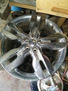 2011 Ford Edge Rims, 20, Chrome And Black, Used,tpms Included