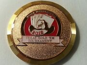 2012 Moose Lodge International Poker Tournament Coin Card Protector Father's Day