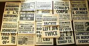 11 National Enquirer Newspapers Magazines 1964-68 Jfk Lee Harvey Oswald's Corpse