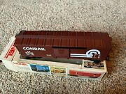 Lionel6-9400 Conrail Box Car Freight Carrier O And O27 Gauge Vintage Brown