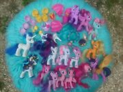 G4 My Little Pony Mlp Brushable 3 Inch Horse Rare Huge Lot Ponies Mermaid 20+