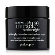 Philosophy Anti-wrinkle Miracle Worker Night+ Line-correcting Overnight 60ml
