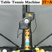New Jt-a Automatic Table Tennis Robot Ping Pong Ball Train Machine And Catch Net