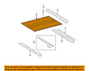 Toyota Oem 07-16 Tundra Pick Up Box Bed-bed Floor 653110c050