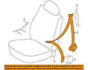 Toyota Oem 05-11 Tacoma Front Seat-belt And Buckle Retractor Right 7321004182b0