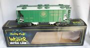 ✅weaver 3-rail Southern Ps-2 Covered Hopper Car W/ Lionel Type Couplers Norfolk