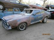 1976 Ford Mustang Complete Blue Rear Seat Core