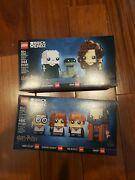 Lego Brick Headz 40495 And 40496 Harry Potter Sets - New Hard To Find