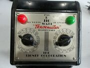 Lionel Train Transformer Type R 110 Watt Trainmaster Tested And Works