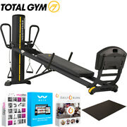 Total Gym Elevate Encompass Functional Training System Full Body +fitness Bundle