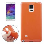 Case Telephone Case Cover For Mobile Phone Samsung Galaxy Note 4 Orange