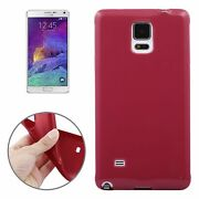 Telephone Case Backcover Bowl Case For Phone Samsung Galaxy Note 4 Dark Red