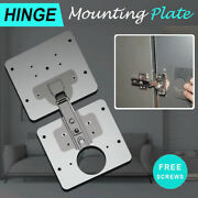 Hinge Repair Plate For Cabinet Furniture Drawer Window Stainless Steel Plate