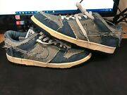 Size 10.5 - Nike Dunk Low Cl Denim Reese Forbes