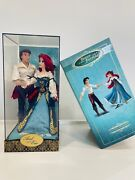 Disney Designer Fairytale Collectionariel And Eric Doll Set Limited Edition