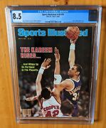 Sports Illustrated 1983 Jabbar Newsstand Cgc 8.5 Another Great Cover
