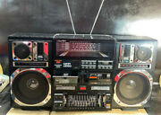 Supertech J-747s Stereo Boombox Ghettoblaster Spike Lee Do The Right Thing As-is