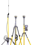 Trimble Dual R10 Gps Receiver Kit W/ Tsc3 And Access Software Satel Radio