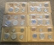 Lot 6 Us Mint Silver Proof Sets 1959 1960 1961 1962 1963 1964 Fast Shipping