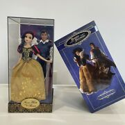New Disney Designer Fairytale Collection Snow White And The doll Set Le
