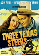 Three Texas Steers [new Dvd] Black And White Rmst