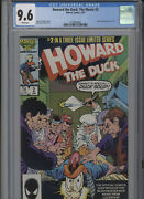 Howard The Duck The Movie 2 Nm 9.6 Cgc White Pages Baker Cover And Art Fingerot