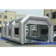 20108ft Inflatable Spray Booth Portable Paint Tent Painting House With Window