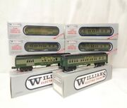 ✅williams Erie Spirit Of Youngstown 6 Car Passenger Set W/ Lionel Type Couplers