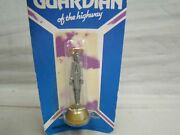 Vintage Guardian Of The Highway Traveling Saint Dash Board Dashboard Auto Travel