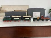 Tin Toys Germanytucher Walther Trolley Train Handmade Decorative Hand Painted