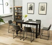 Lotusville Counter Height Dining Set Vintage Gray