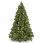 And039feel Realand039 Pre-lit Artificial Christmas Tree | Includes Pre-strung White 9 Ft