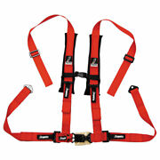 Dragonfire Racing 4-point H-style Safety Harness W/sternum Clip 2 Passenger Side