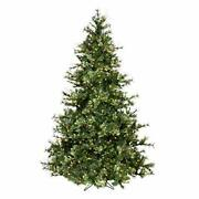 9and039 Mixed Country Pine Slim Artificial Christmas Tree Warm White A801681led