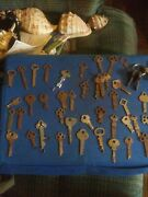 45 Antique Keys Very Early.