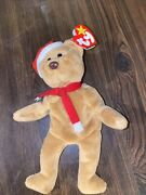 Rare Ty Beanie Baby Brown Nose 1997 Teddy In Mint Condition. Pvc Pellets