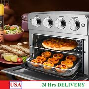 Geek Chef Air Fryer Toaster Oven, 6 Slice 24qt Convection Airfryer Countertop